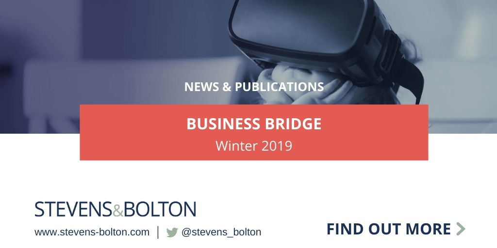 Business Bridge - Winter 2019
