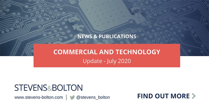 Commercial and Technology Update - July 2020