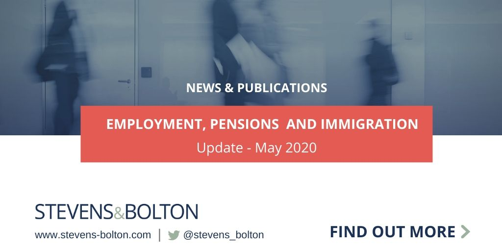 Employment and immigration update - May 2020