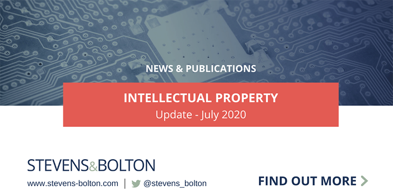 Intellectual Property Update - July 2020