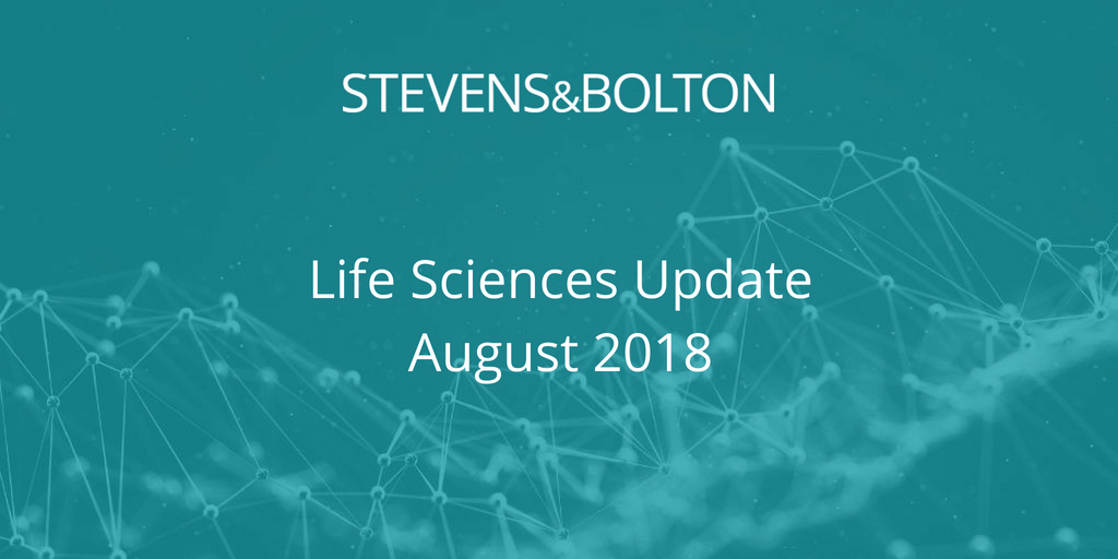 Life Sciences Update - August 2018
