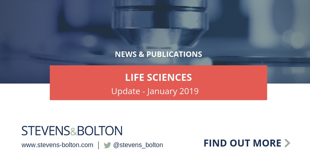 Life Sciences Update - January 2019