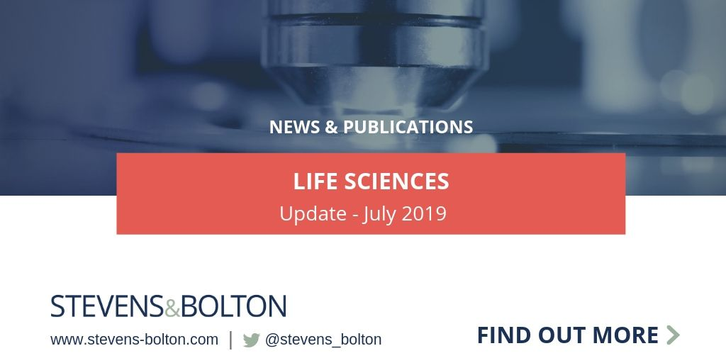 Life Sciences Update - July 2019