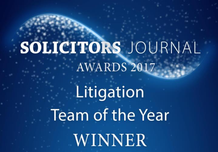 Litigation Team of the Year 2017