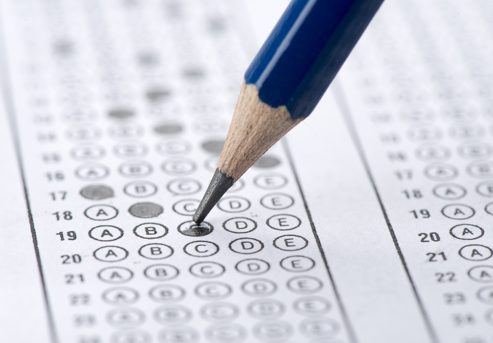 Can a multiple choice psychometric test be discriminatory?
