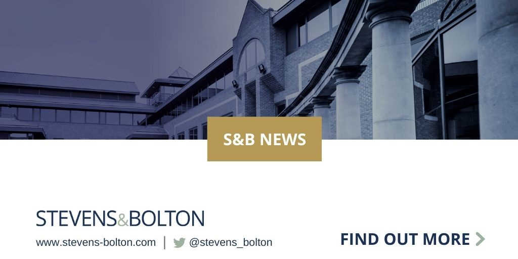 Stevens & Bolton announces four new partner promotions