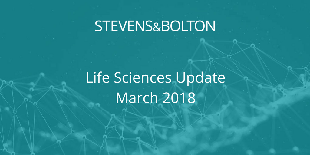 Life Sciences Update - March 2018